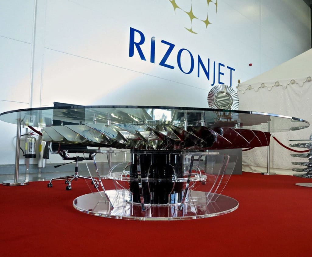 Rolls Royce 747 Fan Blade Boardroom Table