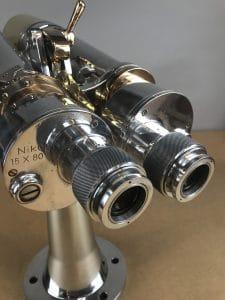 Vintage Nikon WWII Battleship Binoculars