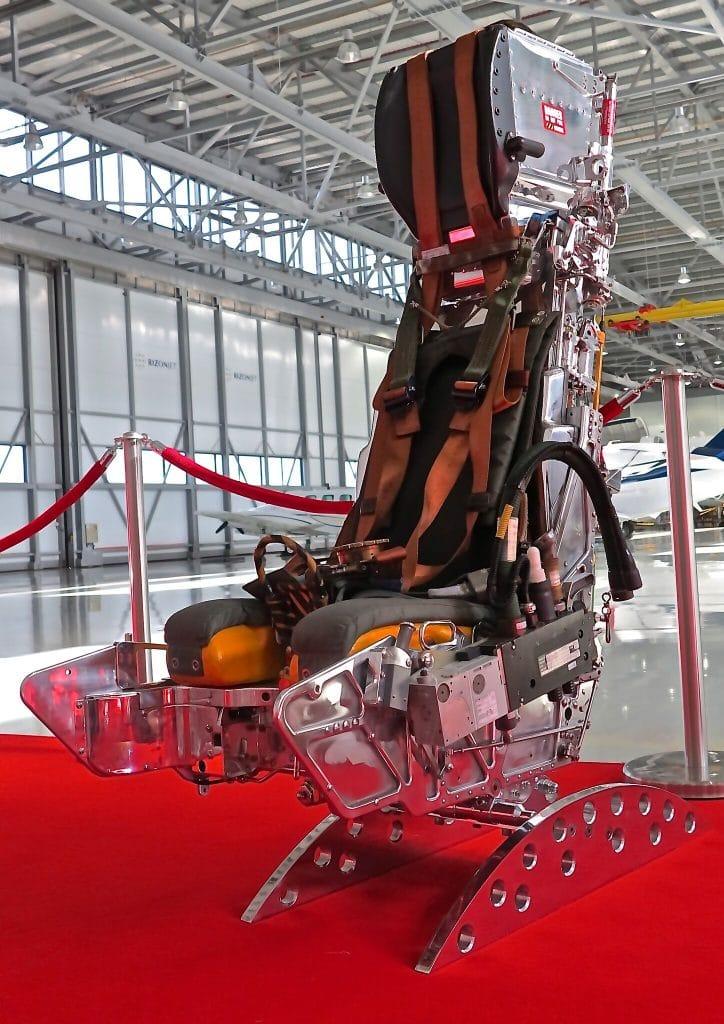 Martin Baker polished Tornado ejector seat