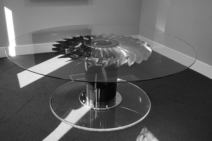 RAF Harrier Jet Aircraft boardroom table