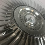 737 LP2 Fan Blade on Hub
