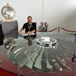 Rolls Royce 747 Fan Blade Centre Table