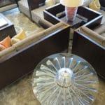 Rolls Royce Fan Blade Centre Table