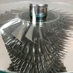 BAe 146 Jet Engine Side Table