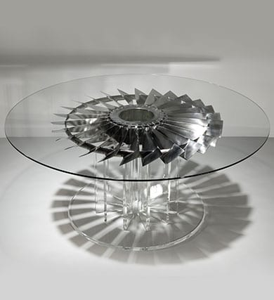 Pegasus LP1 Fan Blade Dining Table