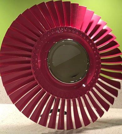 Turbomeca Pink Vanity Mirror
