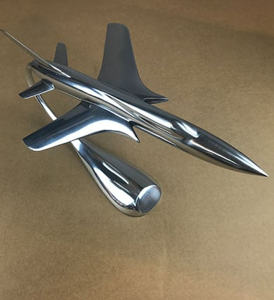 Thunderchief Jet metal model