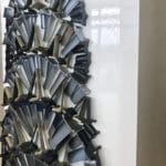 Puma Blades 'Chrysler Building' Sculpture by Emily Jackman