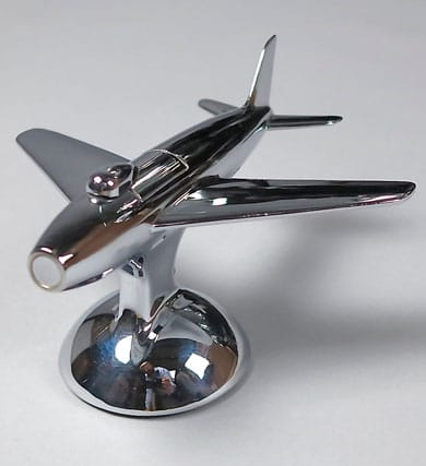 Dunhill Rare F-86 Sabre Jet Fighter Table Lighter
