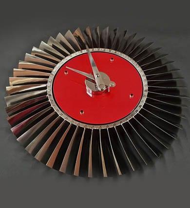 Red Pegasus Sea Harrier Jump Jet clock