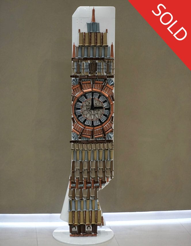 Big Ben fan blade sculpture