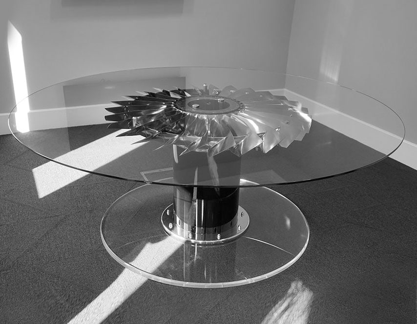 RAF Harrier Jet Aircraft Dining Table