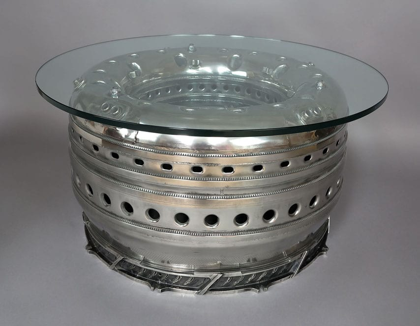 Pegasus Combustion Chamber Side Table