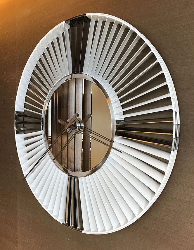 Rolls Royce Harrier Clock