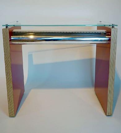 Tri Star Elevator Console Table