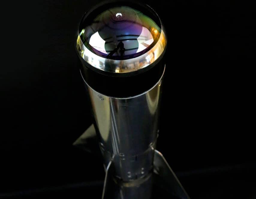 Sidewinder missile furniture piece