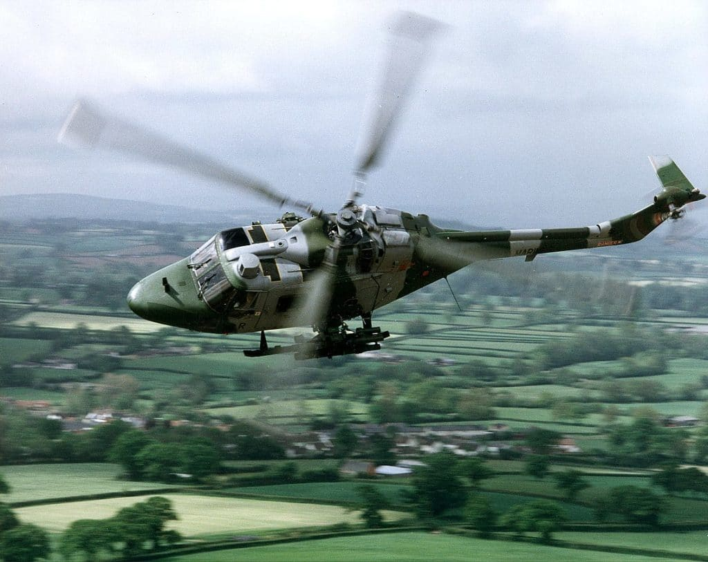 Advanced high speed multi-purpose twin engined Lynx helicopter