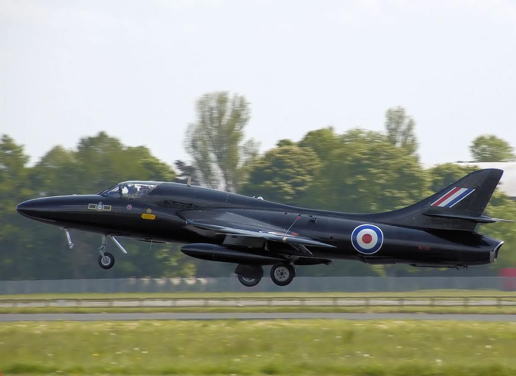 Hawker Hunter T7A