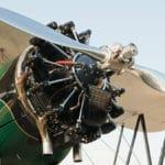 Jacobs R-755 engine on a Boeing-Stearman E75