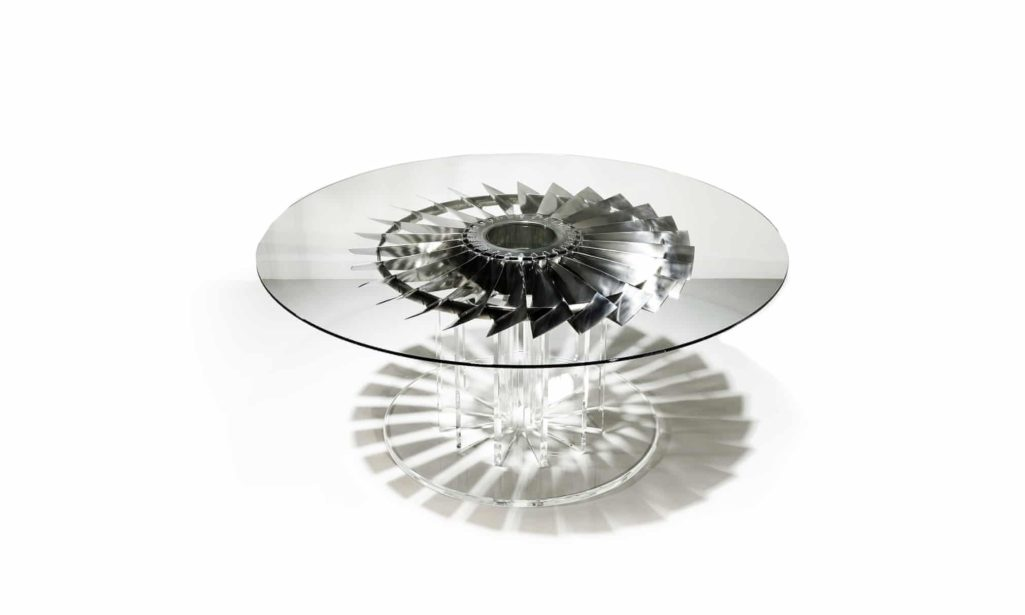 Intrepid Design upcycled table