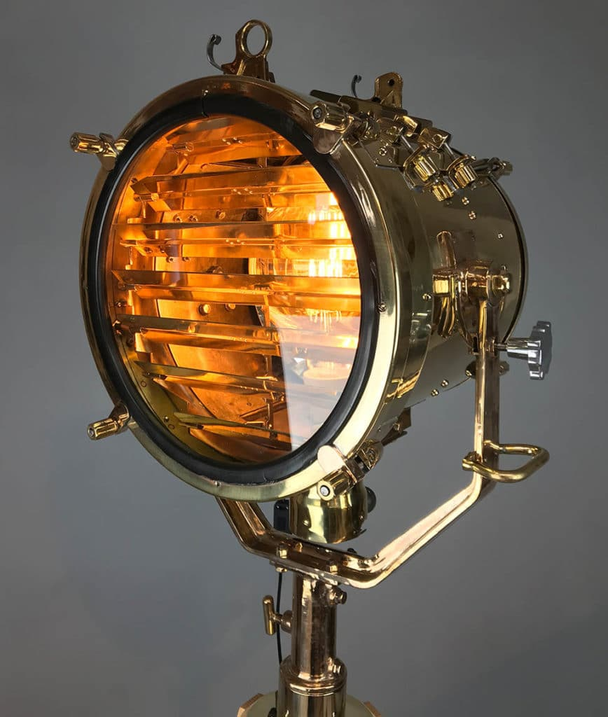 Upcycled MOD searchlight