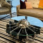Table made from Jacobs radial engine