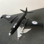 Scale model of Canberra bomber
