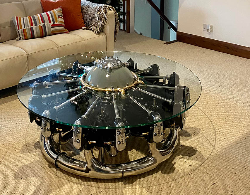 Jacobs engine radial table