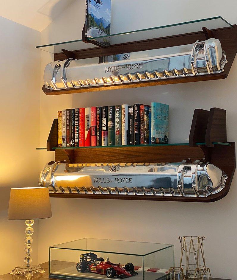 Rolls Royce Bookshelves