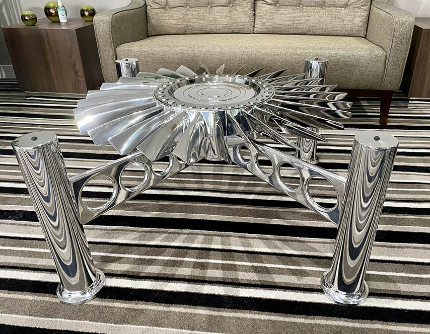 BAC Lightning coffee table
